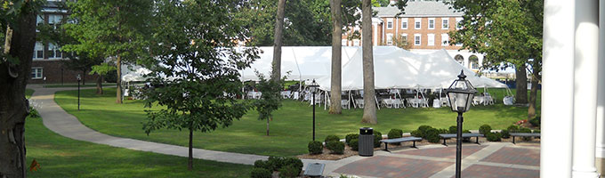 Tent and Canopy rentals at Rentalex Events in Southwest Michigan