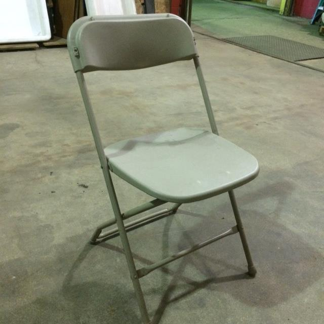 Where to find CHAIR, FOLDING METAL BEIGE in Kalamazoo