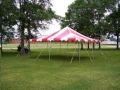 Rental store for TENT, 20  X 20  RED WHT EVENT in Kalamazoo MI