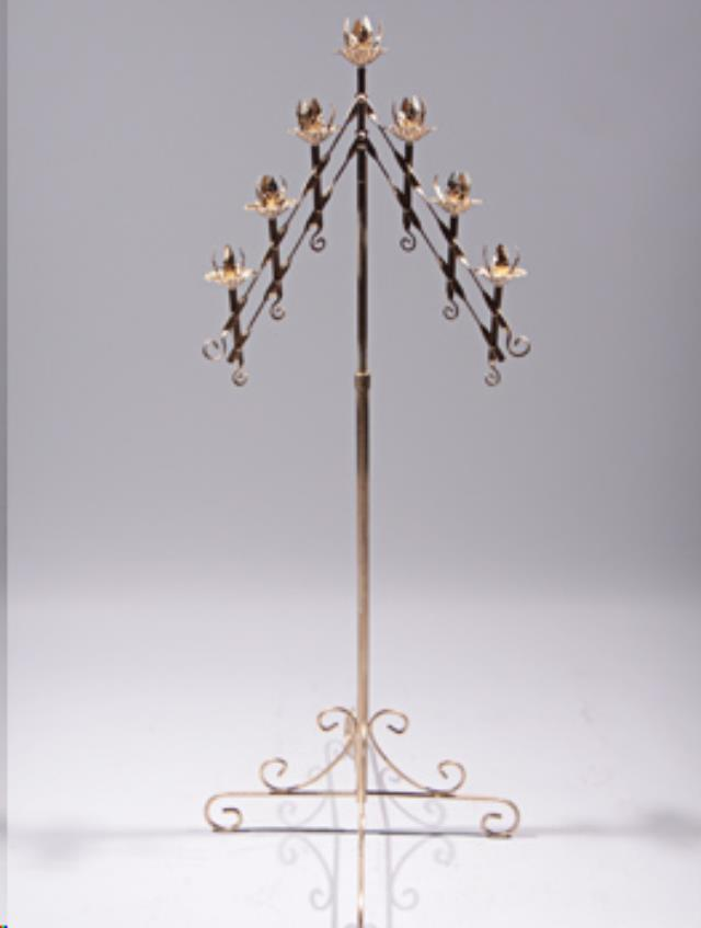Where to find CANDLEABRA, 7 LIGHT ADJ GOLD in Kalamazoo