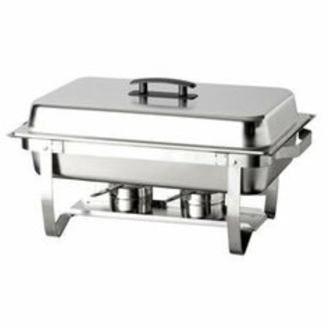Where to find CHAFER, 8 QT STAINLESS BLACK HANDLE in Kalamazoo