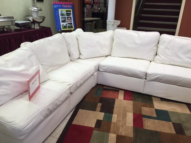 Where to find COUCH, BASE WHITE LEATHER in Kalamazoo
