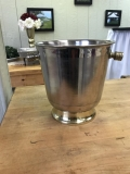 Rental store for BUCKET, ICE BUCKET SILVER WITH GOLD ACCE in Kalamazoo MI