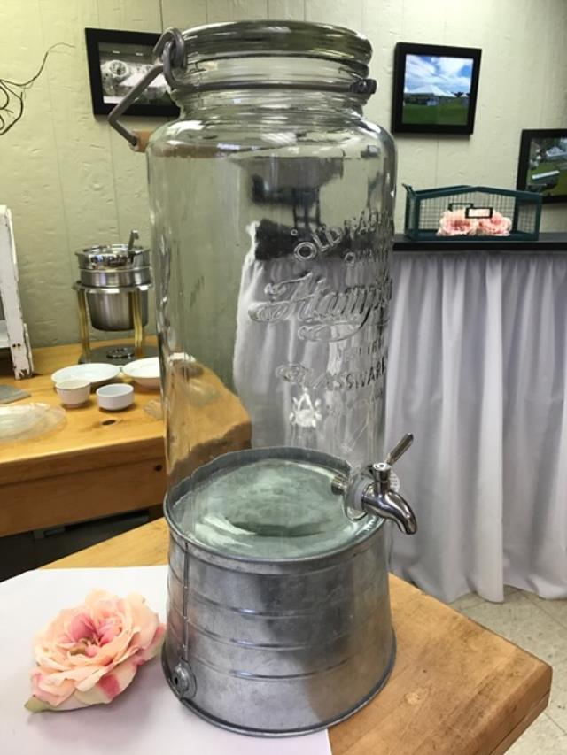 Where to find DISPENSER, GLASS BEVERAGE W GALV STAND in Kalamazoo