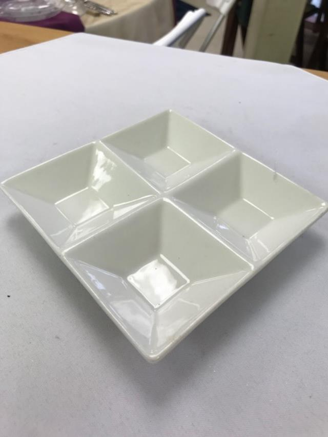 Where to find TIDBIT, PLATE 6X6 WITH 4 SECTIONS in Kalamazoo