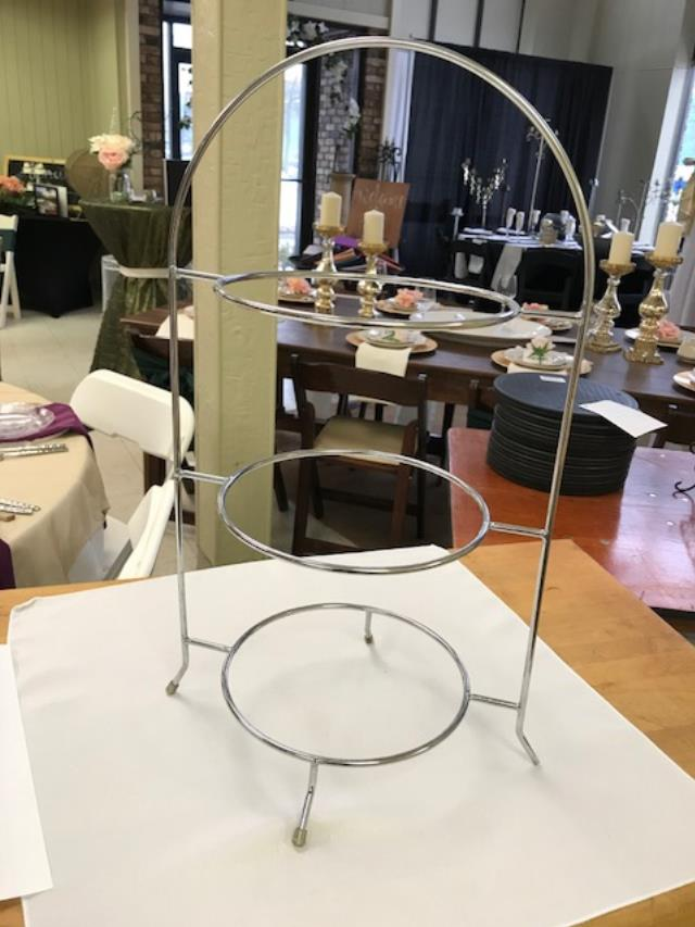 Where to find STAND, PLATE SILVER 3 TIER in Kalamazoo