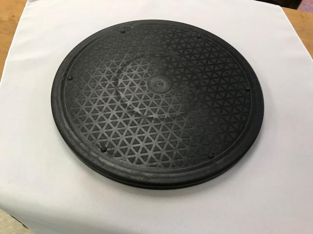 Where to find TRAY, LAZY SUSAN 12  ROUND BLACK in Kalamazoo