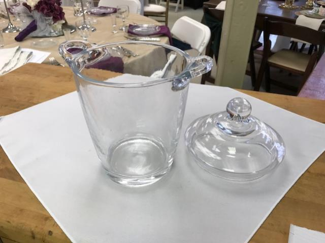Where to find BUCKET, GLASS ICE BUCKET WITH LID in Kalamazoo