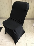 Rental store for CHAIR, COVER SPANDEX BLACK in Kalamazoo MI