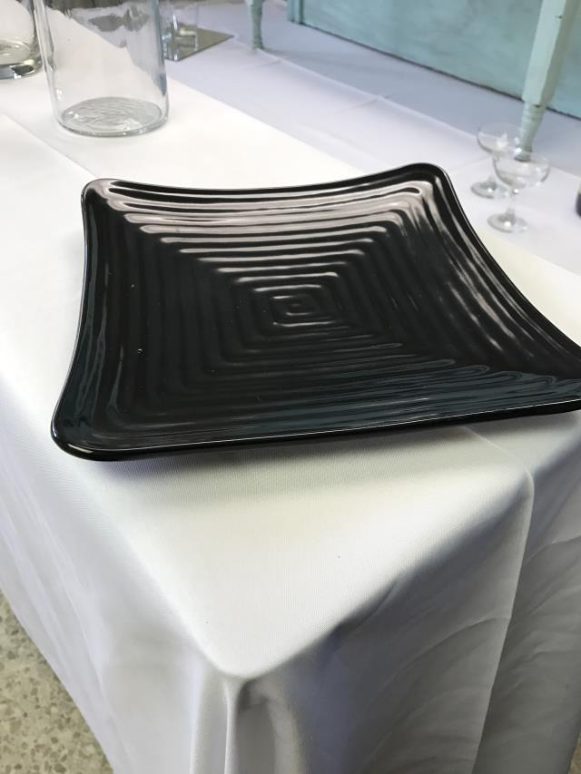 Where to find CHINA, BLACK SQUARE DINNER PLATE PLASTIC in Kalamazoo