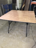 Rental store for TABLE, SQUARE 48X48  WOOD in Kalamazoo MI