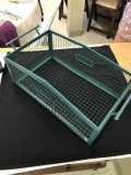 Rental store for BASKET, TURQUOISE WIRE 14X8 in Kalamazoo MI