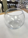 Rental store for VASE, GLASS SMALL FISH BOWL 5X4 in Kalamazoo MI