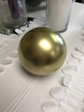 Rental store for DECOR, BUBBLE SPHERE SMALL GOLD in Kalamazoo MI
