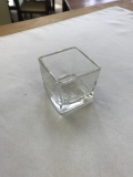 Rental store for VASE, 3X3 GLASS SQUARE VASE RND EDGE in Kalamazoo MI