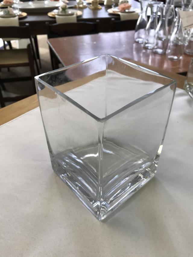Where to find VASE, 5X5 GLASS SQUARE in Kalamazoo