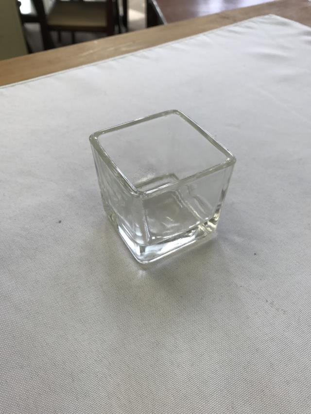 Where to find VASE, 2X2 GLASS SQ VOTIVE RND EDGE in Kalamazoo