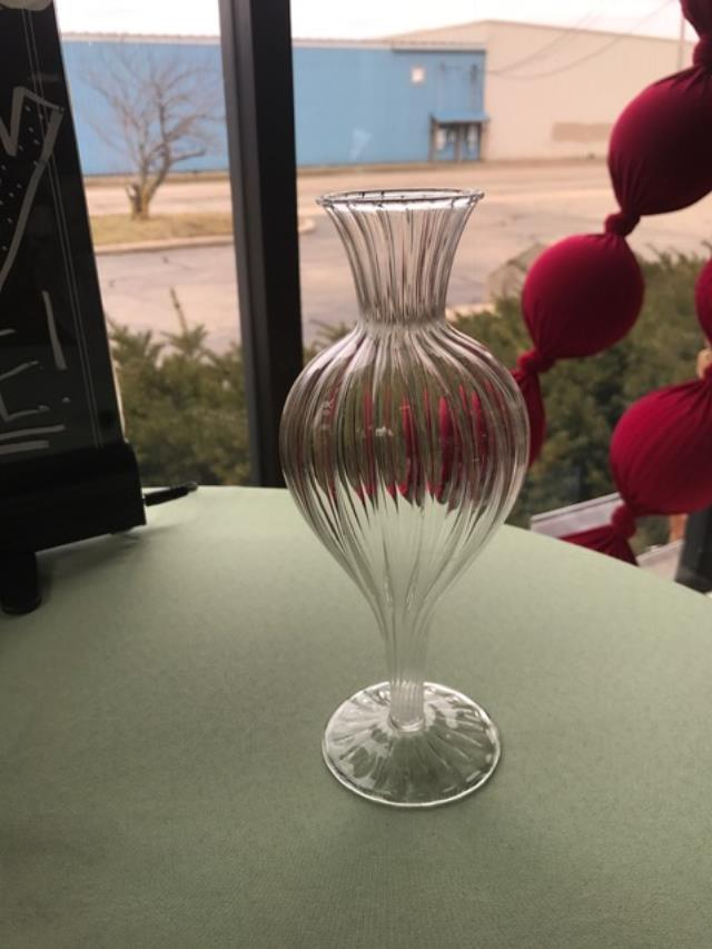 Where to find VASE, GLASS SPIRAL 8  BUD VASE in Kalamazoo
