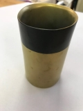 Rental store for VASE, 4.5  GOLD BLACK VASE in Kalamazoo MI