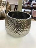 Rental store for VASE, SILVER HAMMERED VASE 6X6 in Kalamazoo MI