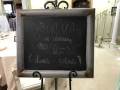Rental store for RUSTIC METAL CHALK BOARD in Kalamazoo MI