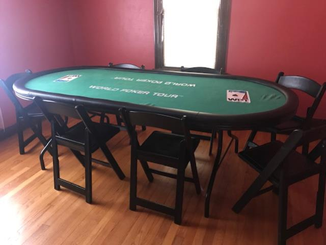 Where to find TABLE, POKER TABLE 8X4 in Kalamazoo