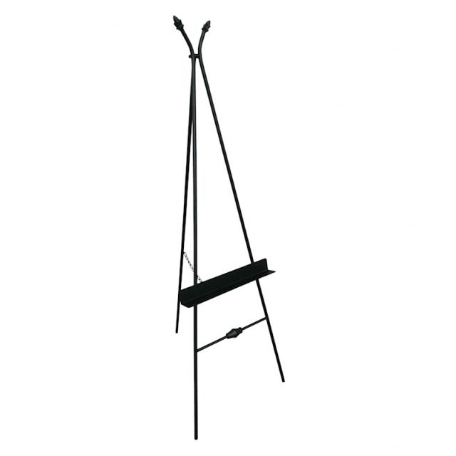 Where to find EASEL, METAL BLACK WITH SHELF in Kalamazoo