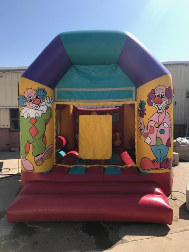 Where to find INFLATABLE BOUNCER, CLOWN in Kalamazoo