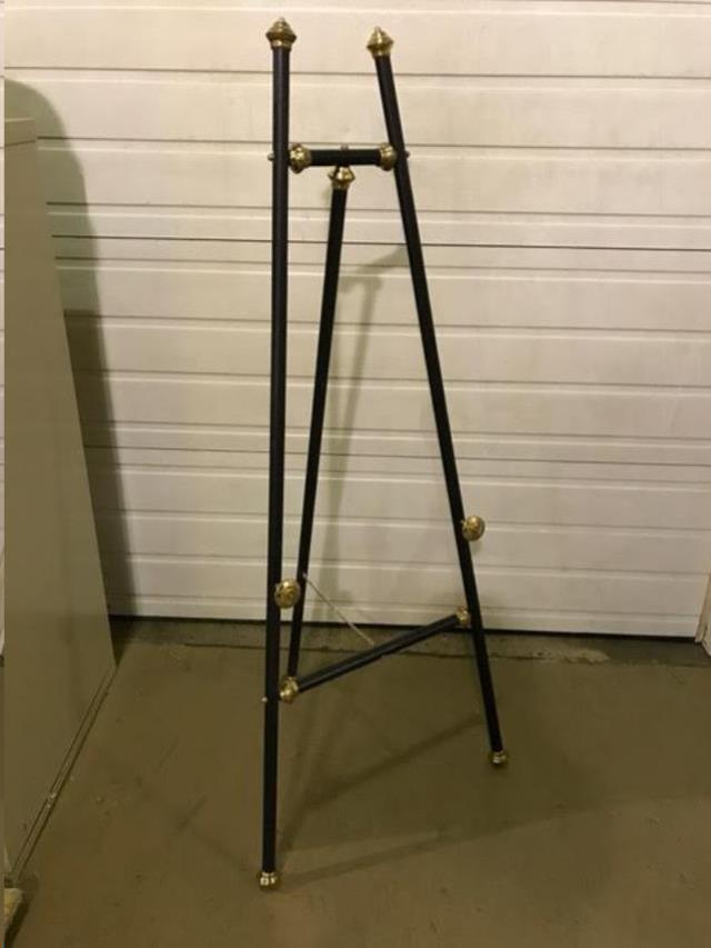 Where to find EASEL, BLACK WOOD WITH GOLD ACCENTS in Kalamazoo