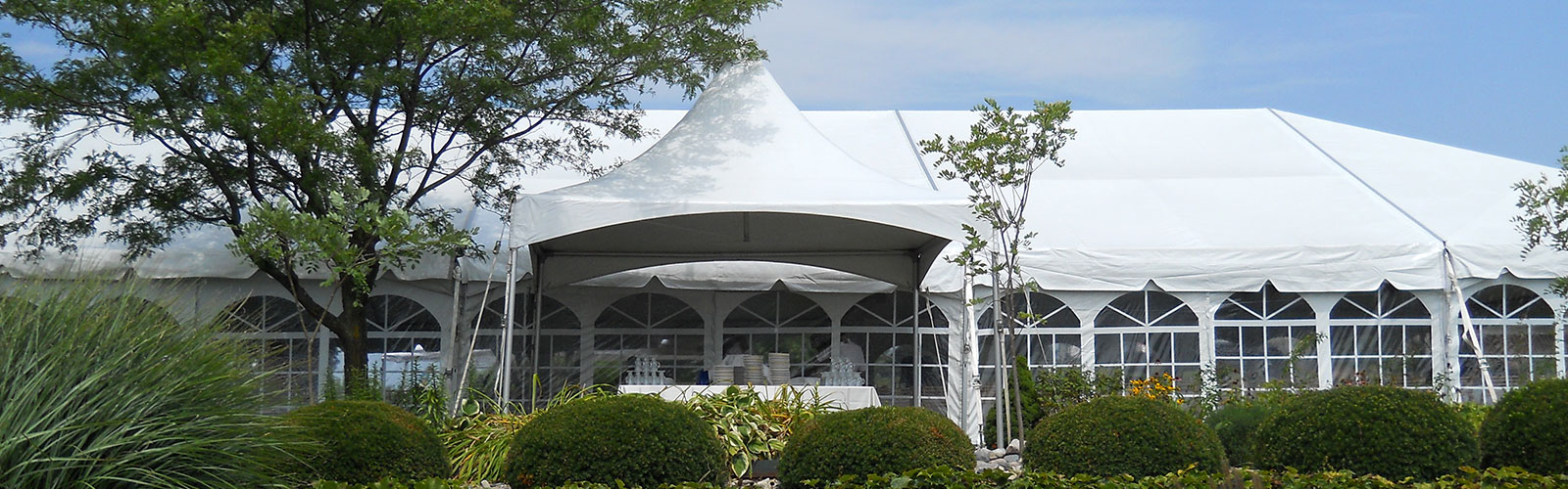 Tent rentals in Southwest Michigan
